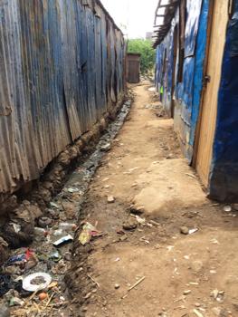 MathareOutsideHome